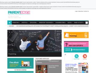 parentedge.in screenshot