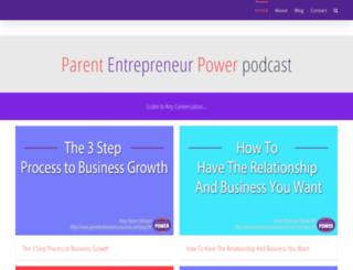 parententrepreneursuccess.com screenshot