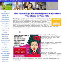 parenting-child-development.com screenshot