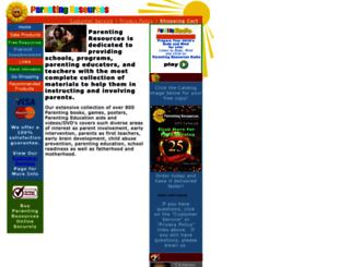 parenting-resources.com screenshot