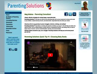 parenting-solutions.com screenshot