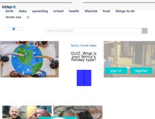 parenting.kidspot.com.au screenshot