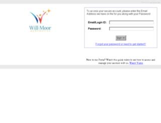 parentportal.willmoorgymnastics.com screenshot