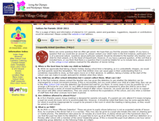 parents.combertonvc.org screenshot