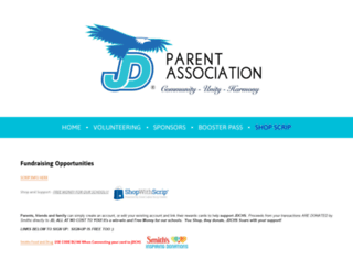 parents.jdchs.org screenshot
