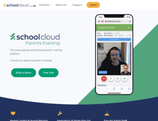 parentseveningsystem.co.uk screenshot