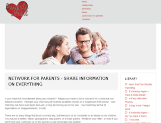 parentsheart.com screenshot