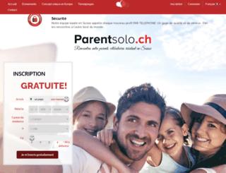 parentsolo.ch screenshot