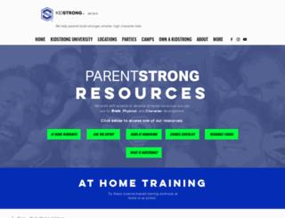 parentstrong.com screenshot