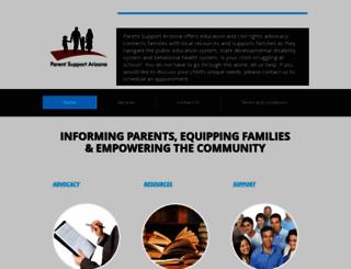 parentsupportarizona.com screenshot