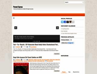 parentxpressny.blogspot.com screenshot