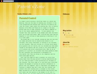 parentzone.blogspot.com screenshot