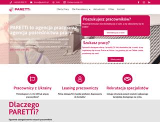 paretti.pl screenshot