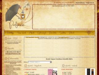 parfumeso.hu screenshot