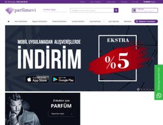 parfumevi.com.tr screenshot