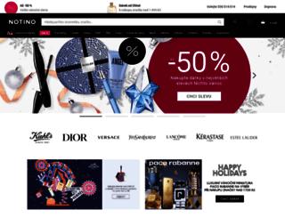 parfums.cz screenshot