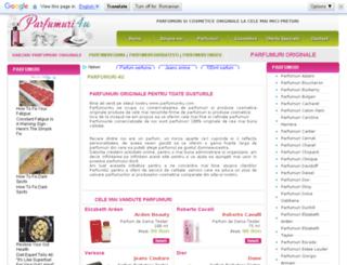 parfumuri4u.com screenshot