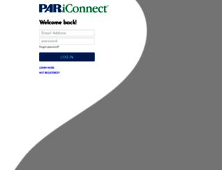pariconnect.com screenshot