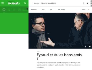 paridavenir.football.fr screenshot