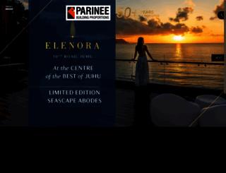 parinee.com screenshot