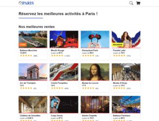 paris-circuitos-guiados.cometoparis.com screenshot