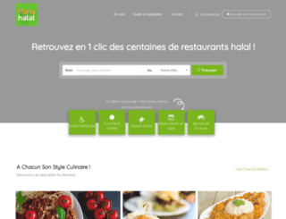 paris-halal.com screenshot