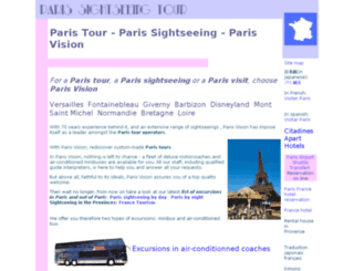 paris-tour-sightseeing.com screenshot