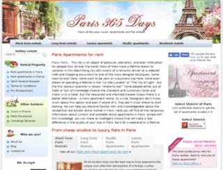 paris365days.com screenshot