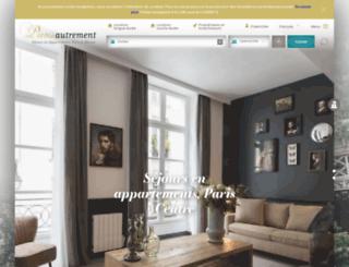 parisautrement.com screenshot