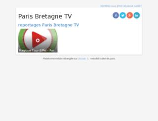 parisbretagnetv.libcast.com screenshot