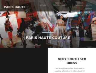parishautecouture.com screenshot