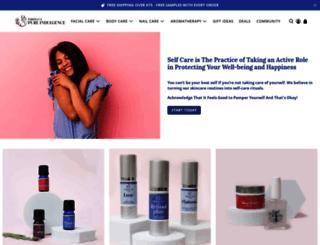 parisianspureindulgence.com screenshot