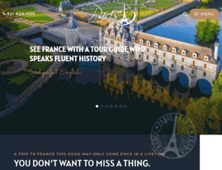 parisluxurytours.com screenshot