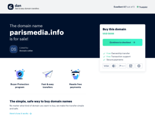 parismedia.info screenshot