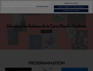 parisphoto.fr screenshot