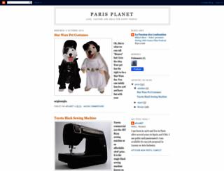 parisplanet.blogspot.com screenshot