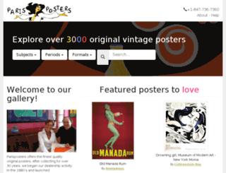 parisposters.com screenshot