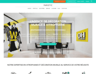 paristic.com screenshot