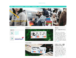 parisvisite.co.kr screenshot
