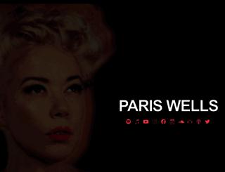pariswells.com.au screenshot