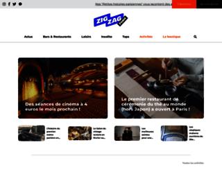 pariszigzag.com screenshot