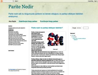 paritenedir.blogspot.com screenshot