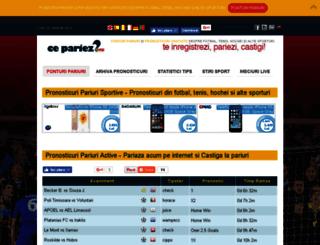 pariuri.catalogdigital.ro screenshot