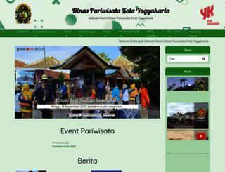 pariwisata.jogjakota.go.id screenshot