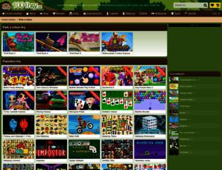 park-a-cirkus.1001hry.cz screenshot
