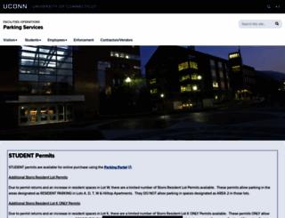 park.uconn.edu screenshot