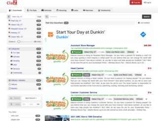 parkcity.claz.org screenshot