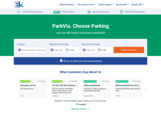 parkcloud.com screenshot