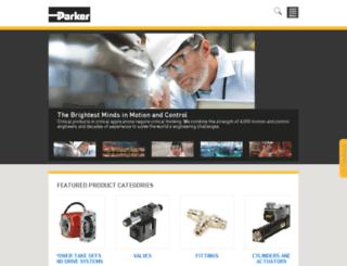 parker.com screenshot