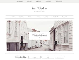 parker.stnsvn.com screenshot
